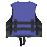 AIRHEAD NYLON CHILD PFD, OPEN SIDE, BLUE