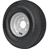 215/60-8 TIRE & WHEEL (C) 5 HOLE GALVANIZED
