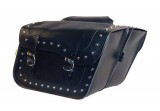 HIGH PIPE SERIES SADDLEBAG SET- STUDDED