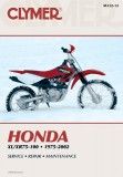 SERVICE MANUAL - HONDA CR80R (97-02)