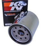 K&N OIL FILTER CHROME ATV